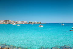 Otranto town in Puglia Italy Stock Images