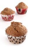 Otrębiaści muffins Zdjęcia Royalty Free