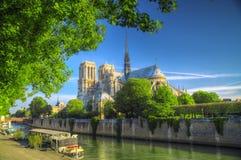 Otre Dame de Paris Immagine Stock Libera da Diritti