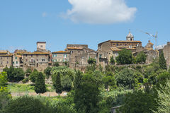 Otricoli (Úmbria, Itália) Foto de Stock