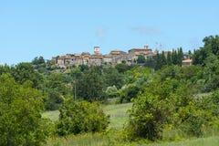 Otricoli (Умбрия, Италия) Стоковое Изображение
