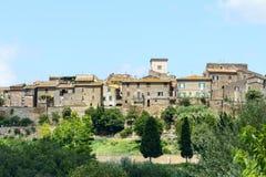 Otricoli (Umbria, Italien) Arkivfoto