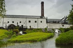 Otro día lluvioso en Irlanda Imágenes de archivo libres de regalías