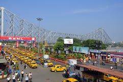 Otro día ocupado en Kolkata Foto de archivo libre de regalías