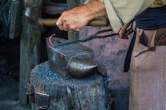 Otro hierro de trabajo del herrero Imagen de archivo libre de regalías