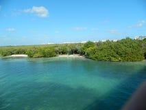 Otro a la una de los lagos más famosos de cancun imágenes de archivo libres de regalías