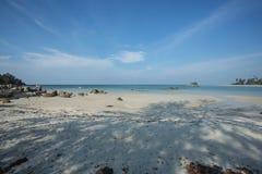 Otro lado de la playa hermosa, Trikora, Bintan Isla-Indonesia fotos de archivo libres de regalías