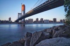 Otro puente sobre East River Nueva York imagenes de archivo