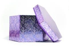 Otro rectángulo de regalo púrpura Fotografía de archivo libre de regalías