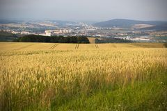 Otrokovice city view. Nice view of Otrokovice, Moravia, Czech Republic Stock Photo