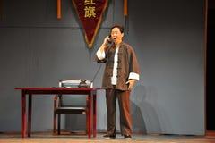 Otrzymywał wysokiego Jiangxi OperaBlue żakiet Obrazy Royalty Free
