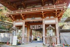 Beautiful fall color of Hiyoshi Taisha. Otsu, NOV 23: Beautiful fall color of Hiyoshi Taisha on NOV 23, 2017 at Otsu, Shiga, Japan Royalty Free Stock Images