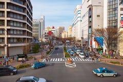 Otsudori - one from the main streets in Nagoya, Aichi Prefecture Stock Image
