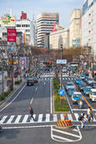 Otsudori - one from the main streets in Nagoya, Aichi Prefecture Stock Photography