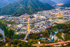 Otsuki, Japan Cityscape Royalty Free Stock Photography
