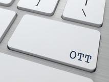 OTT.  Informatietechnologie Concept. Stock Afbeelding
