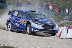 Ott Tanak, WRC, Ford Fiesta WRT Stock Photos