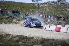 Ott Tanak, WRC, Ford Fiesta WRT Stock Photography