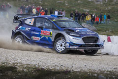 Ott Tanak, WRC, Ford Fiesta WRT Royalty Free Stock Image