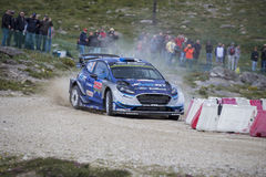 Ott Tanak, WRC, Ford Fiesta WRT Stock Images