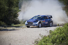 Ott Tanak, WRC, Ford Fiesta WRT Royalty Free Stock Photo