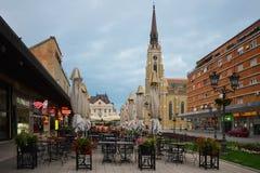 Otta i mitten av Novi Sad, Serbien Arkivbilder
