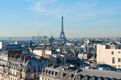 Otta i Paris Royaltyfria Bilder