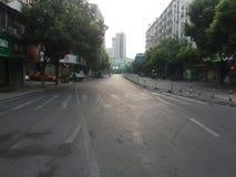Otta på den Susong vägen Arkivfoto