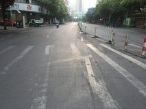 Otta på den Susong vägen Fotografering för Bildbyråer