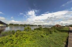 Otta på Ouachitaet River royaltyfria foton