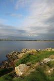 Ottalandskap, fyra mil bro, Anglesey Arkivbild