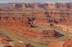 Ottaljus i Canyonlandsen Arkivfoton