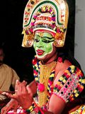 Ottamthullal喀拉拉艺术形式,印度 库存照片