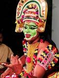 Ottamthullal форма искусства Керала, Индия стоковые фото
