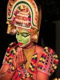 Ottamthullal a Kerala Art Form, India Stock Photos