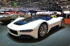 ottantottesimo salone dell'automobile internazionale di Ginevra 2018 - Birdcage settantacinquesimo di Pininfarina immagine stock