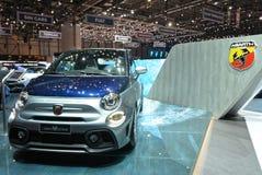 ottantottesimo salone dell'automobile internazionale di Ginevra 2018 - Fiat Abarth 695 Rivale immagine stock libera da diritti