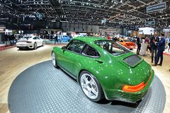 ottantottesimo salone dell'automobile internazionale di Ginevra 2018 - SCR di Ruf fotografia stock