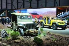 ottantottesimo saloni dell'automobile internazionale di Ginevra 2018 - Willys 1941 fotografie stock