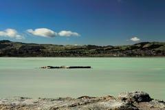 OttaSulphur sjö fotografering för bildbyråer