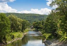 Ottauquechee河 库存照片