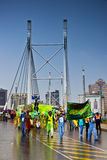ottavi Carnevale di Joburg - parata della via Immagini Stock Libere da Diritti
