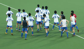 ottavi Tazza dell'Asia degli uomini Giappone 2009 contro la Bangladesh Immagini Stock