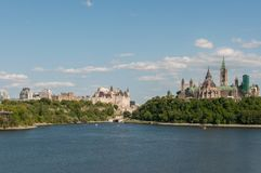 Ottawa é a capital e a quarta - cidade a maior de Canadá Imagem de Stock Royalty Free