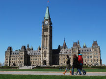 Ottawa. Parliament Buildings view, , Canada Stock Photo