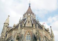 Ottawa arkiv av parlamentet 2008 Royaltyfri Bild