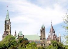 Ottawa bästa del av parlamentet 2008 Fotografering för Bildbyråer