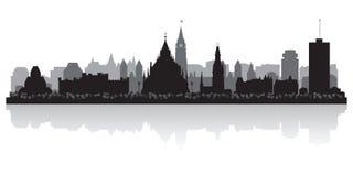 Ottawa Canada city skyline vector silhouette. Ottawa Canada city skyline silhouette vector illustration Stock Photography
