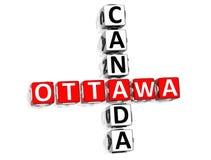 Ottawa Canada Crossword Stock Photos