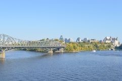 Ottawa city skyline panorama Stock Photography